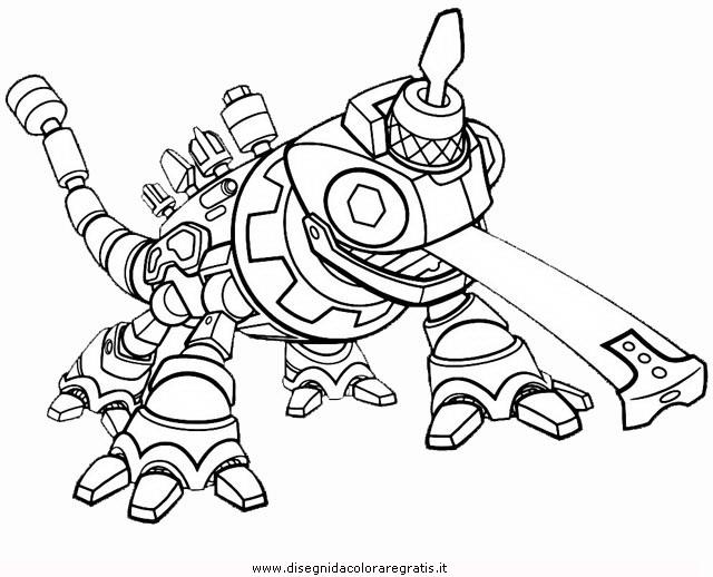 Disegni Da Colorare Di Cartoni Animati: Disegno Dinotrux-6: Personaggio Cartone Animato Da Colorare