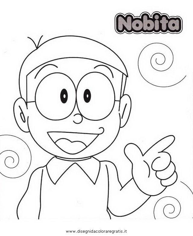 Disegno Doraemon 09 Personaggio Cartone Animato Da Colorare