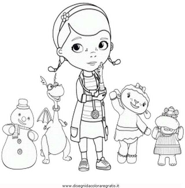 Disegno Dottoressa Peluches 8 Categoria Cartoni Da Colorare