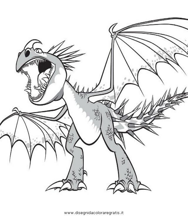 Disegno Dragontrainer17 Personaggio Cartone Animato Da Colorare