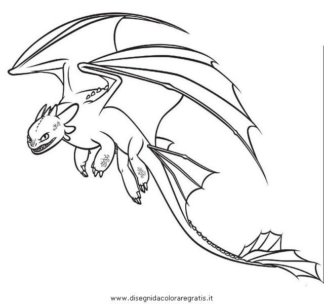 Disegno Dragon Trainer 21 Personaggio Cartone Animato Da