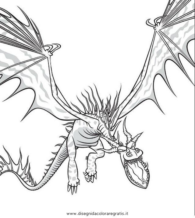 Disegno Dragon Trainer 22 Personaggio Cartone Animato Da