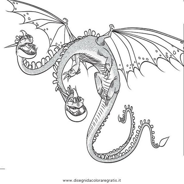 Dragon Trainer Draghi Da Colorare Finest Pagine Da Colorare