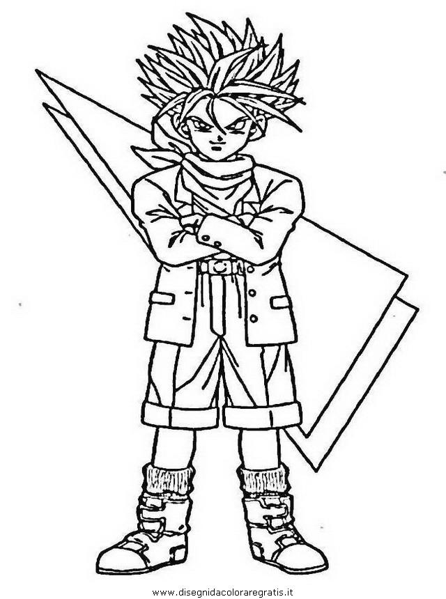 Disegno Dragonball 81 Personaggio Cartone Animato Da Colorare