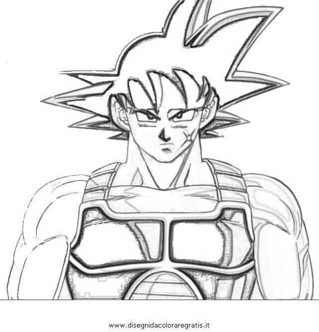 Disegno Dragonball_bardak-3: Personaggio Cartone Animato