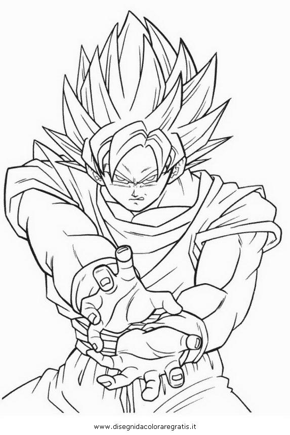 Disegno Dragonballbroly01 Personaggio Cartone Animato Da Colorare
