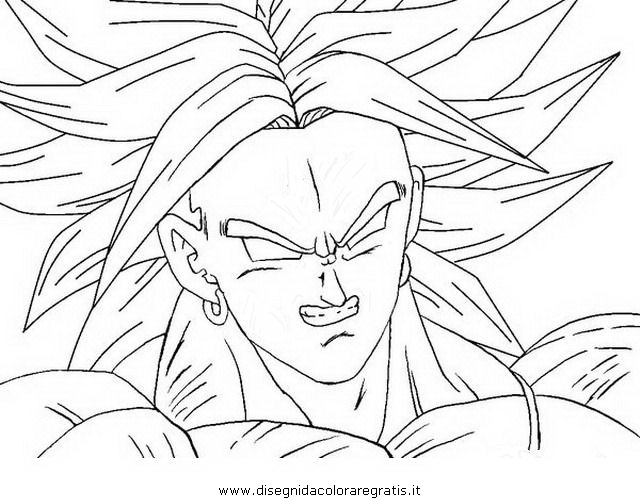 Disegno Dragonball_broly_08: Personaggio Cartone Animato