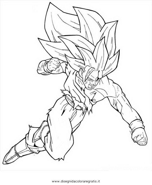 Disegno Dragonballgokussj4supersajan8 Personaggio Cartone
