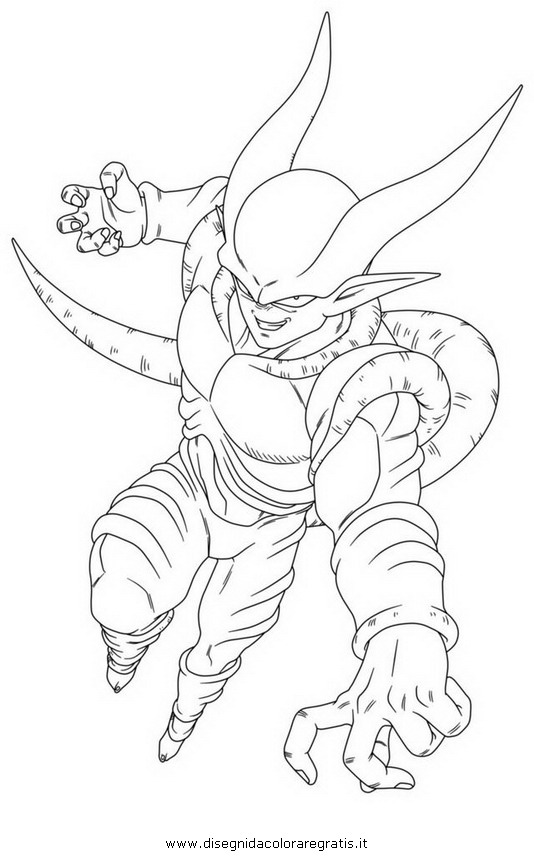 Coloring pages dragon ball z broly for kids coloring pages for Dragon ball z broly coloring pages