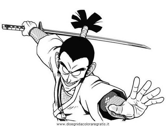 Disegno murasaki personaggio cartone animato da colorare