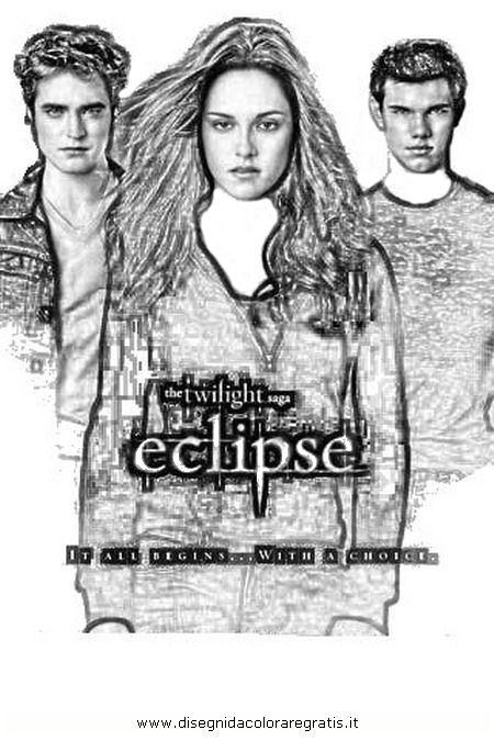 Disegno eclipse twilight personaggio cartone animato