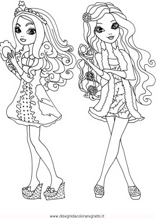 holly ohair coloring pages - photo#20
