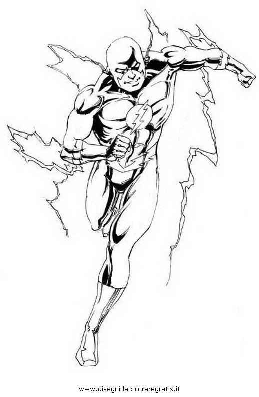 Disegno flash 34 personaggio cartone