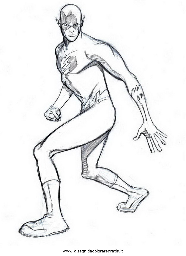 flash coloring pages marvel - photo#18