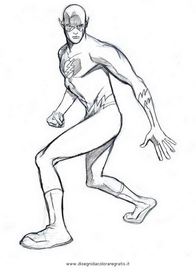 Disegno Flash 36 Personaggio Cartone Animato Da Colorare