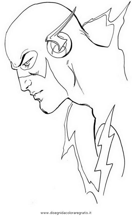 Disegno flash 43 personaggio cartone animato da colorare for Immagini flash da colorare