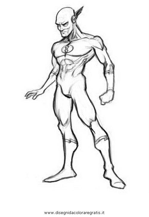 Disegno Flash 44 Personaggio Cartone Animato Da Colorare