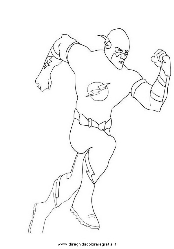 Disegno Flash 47 Personaggio Cartone Animato Da Colorare