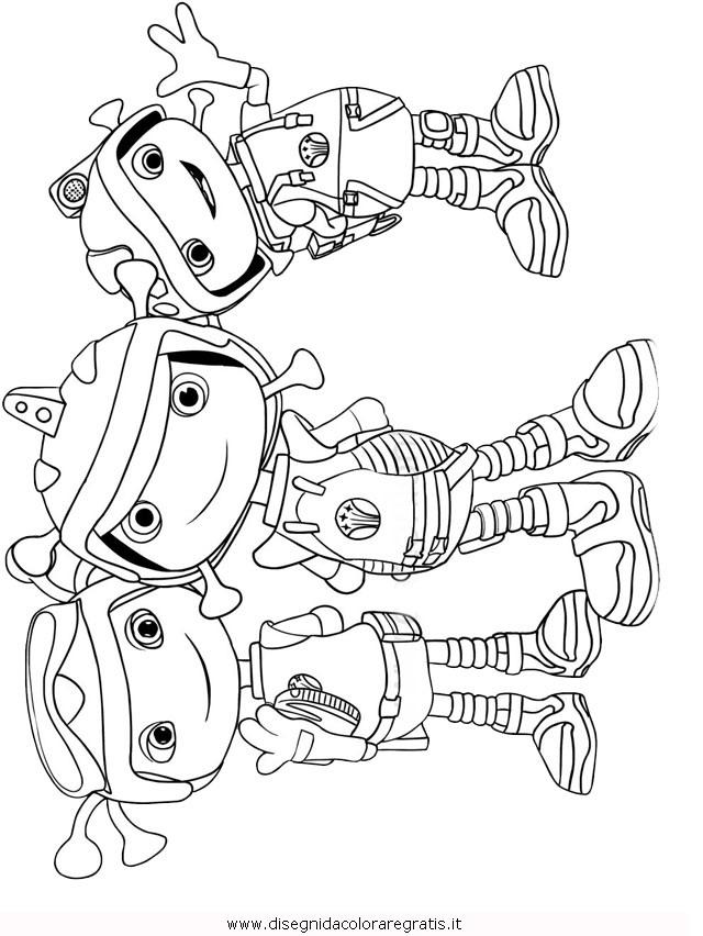 Disegno floogals 07 personaggio cartone animato da colorare - Cartone animato animali da colorare pagine ...