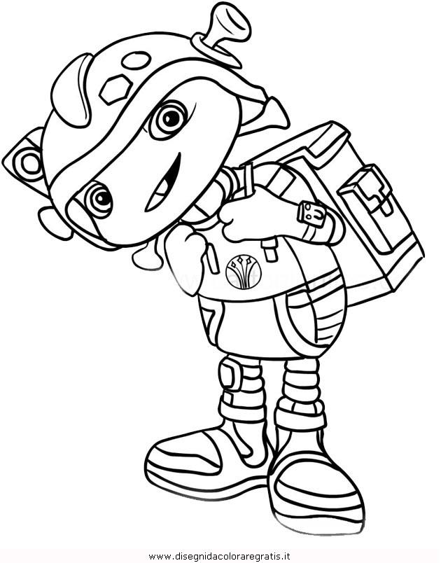 Disegno floogals boomer personaggio cartone animato da