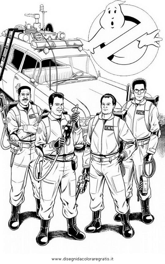Disegno Ghostbusters11 Personaggio Cartone Animato Da Colorare