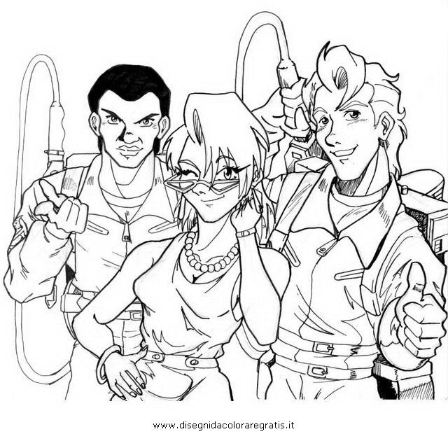 Disegno Ghostbusters19 Personaggio Cartone Animato Da Colorare