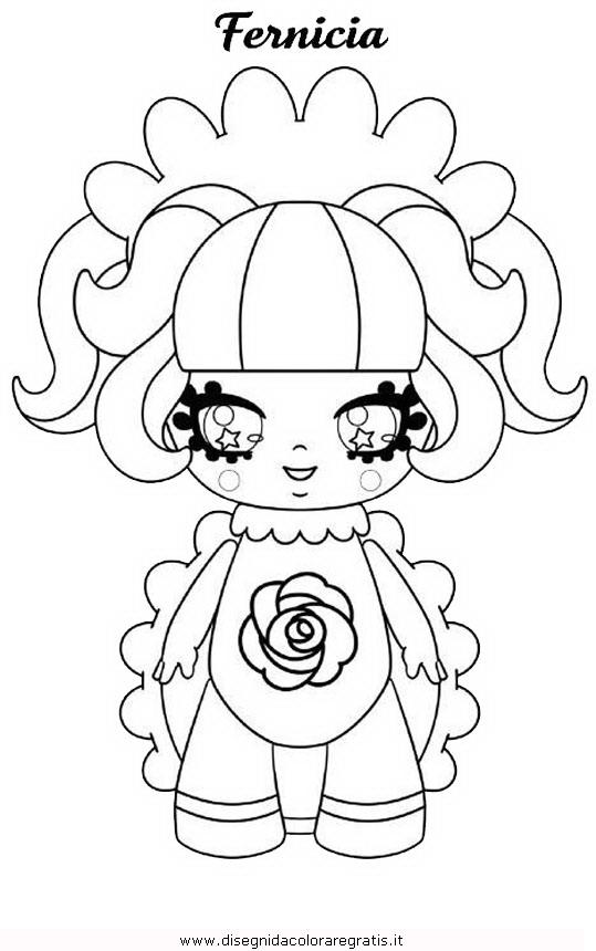 Disegno glimmies 03 personaggio cartone animato da colorare for Cip e ciop immagini da colorare