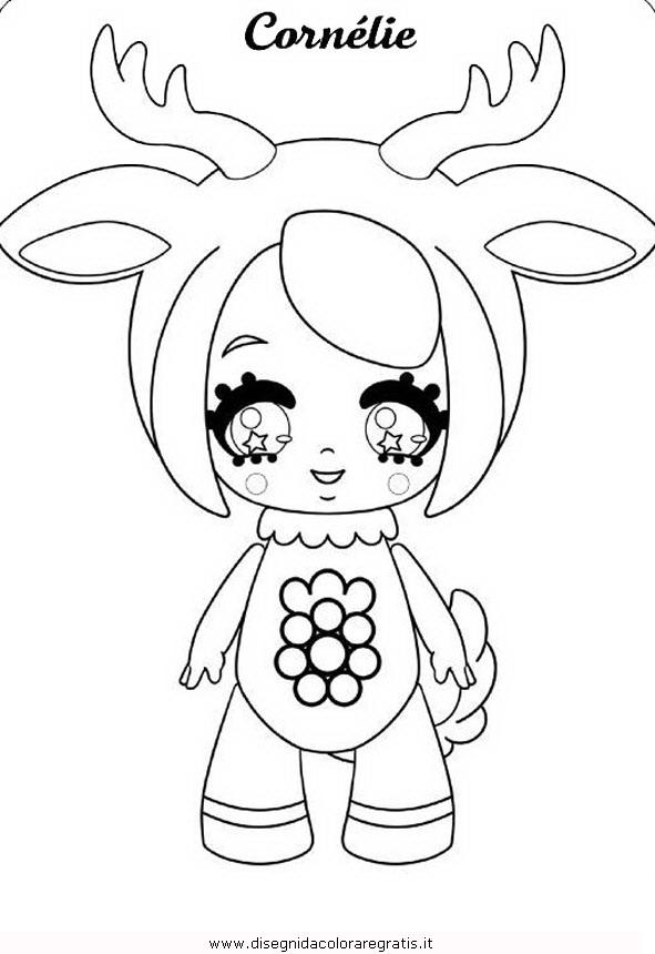 Disegno Glimmies 04 Personaggio Cartone Animato Da Colorare