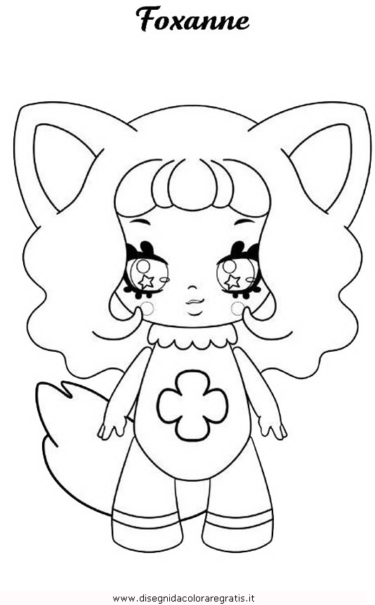 Disegno lol surprise 5 personaggio cartone animato da for Lol surprise da colorare