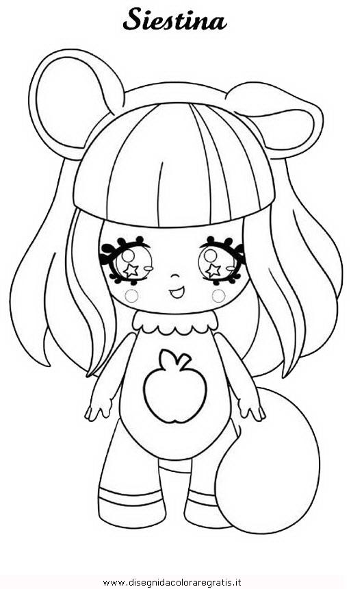 Disegno glimmies 07 personaggio cartone animato da colorare for Lepre immagini da stampare
