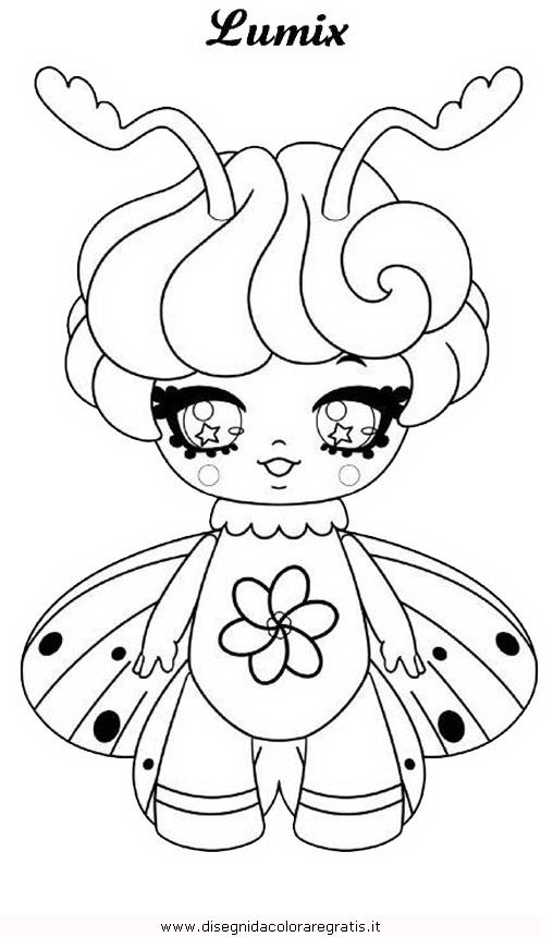 Disegno Glimmies 09 Personaggio Cartone Animato Da Colorare