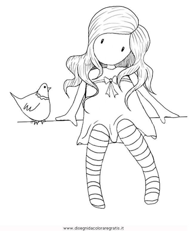 Disegno Gorjuss05 Personaggio Cartone Animato Da Colorare