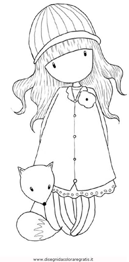 Disegno Gorjuss14 Personaggio Cartone Animato Da Colorare