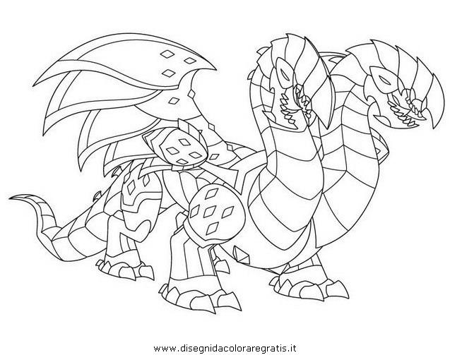 Disegno Gormiticerberioncerbero Personaggio Cartone Animato Da