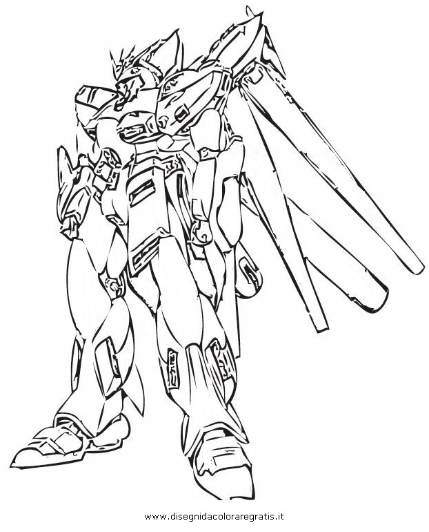 g gundam coloring pages - photo #32