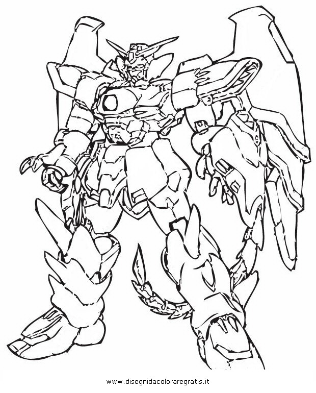 g gundam coloring pages - photo #6