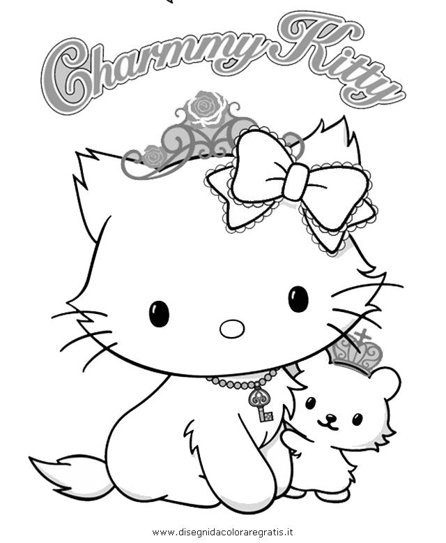 Disegno charmmy kitty personaggio cartone animato da