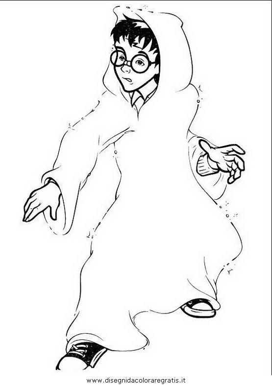 Disegno harry potter personaggio cartone animato da