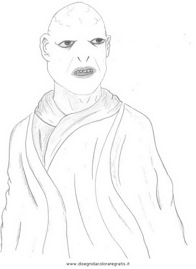voldemort coloring pages - photo#13