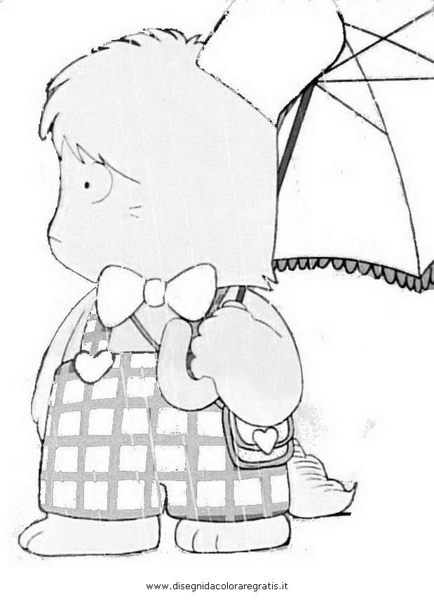 Disegno hello spank personaggio cartone animato da