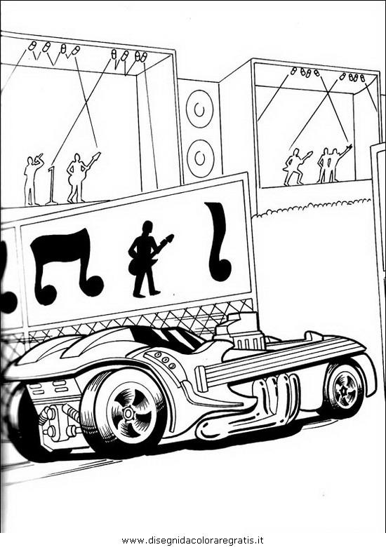 Disegno disegni hot wheels personaggio cartone animato