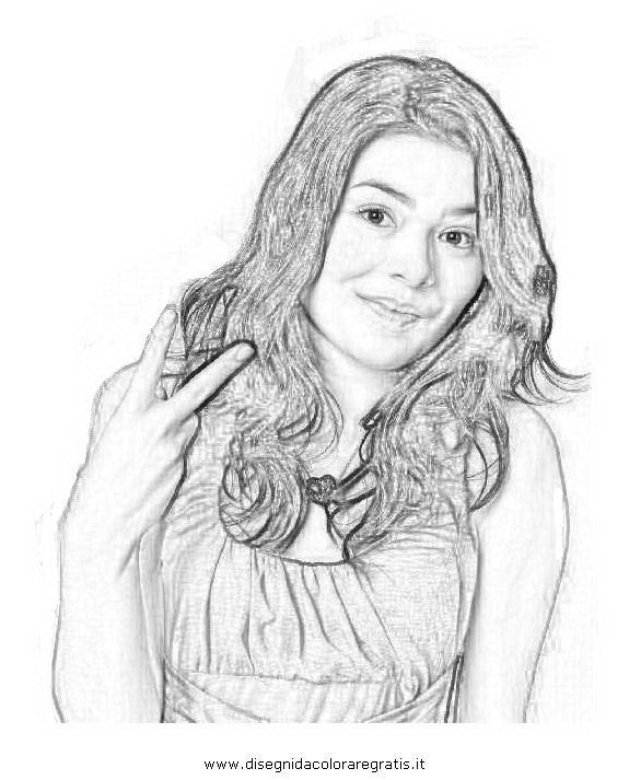 Icarly Printable Coloring Pages Sketch Coloring Page