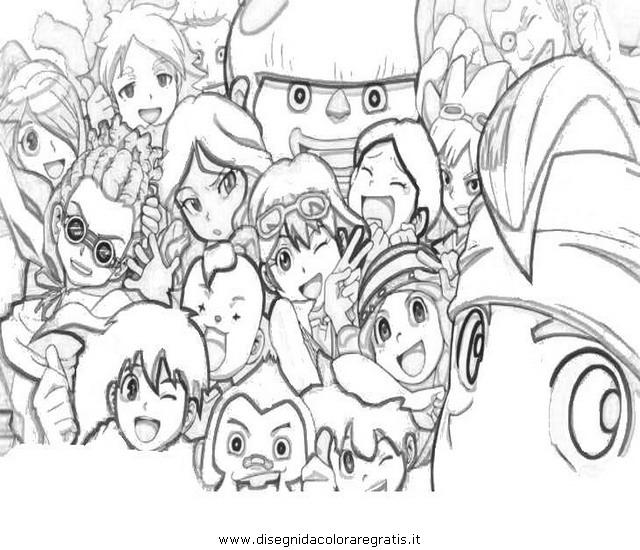 Disegno Inazumaeleven07 Personaggio Cartone Animato Da Colorare
