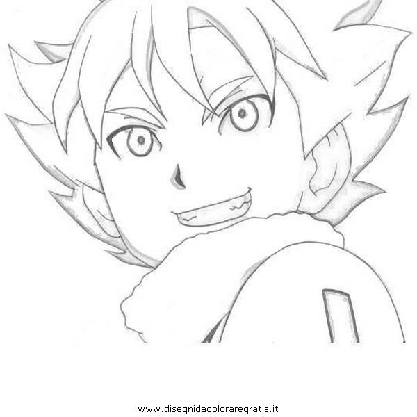 Disegno Inazumaeleven09 Personaggio Cartone Animato Da Colorare