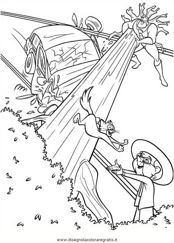 Disegno Incredibili 72 Personaggio Cartone Animato Da Colorare