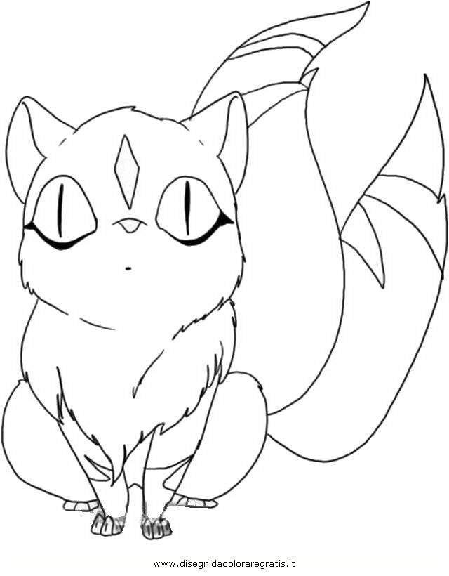 coloring book pages of kirara - photo#2