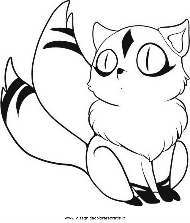 coloring book pages of kirara - photo#3