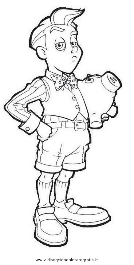 Disegno lazytown personaggio cartone animato da colorare