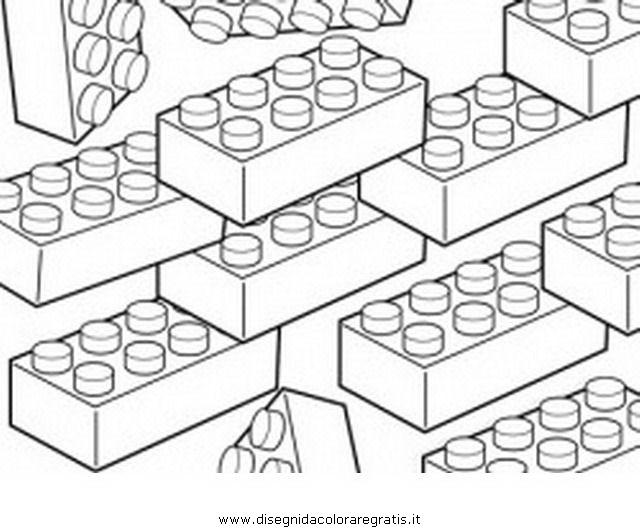 Disegno Lego 01 Personaggio Cartone Animato Da Colorare