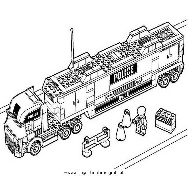 Disegno Lego 22 Personaggio Cartone Animato Da Colorare